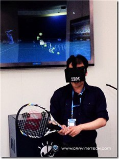 IBM Return Serve Occulus Rift