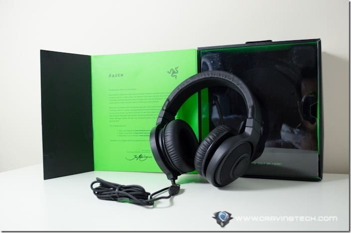 Razer Kraken 7.1 packaging