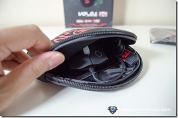 volos inside pouch