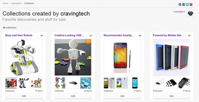 Craving Tech eBay Collections