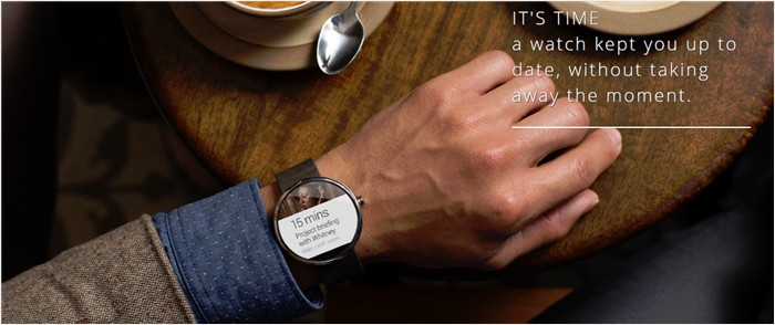 Moto 360 in action