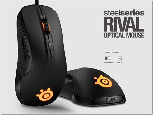 SteelSeries Rival Optical Mouse