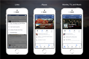 You can now save a link or article on your Facebook news feed to be read later