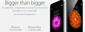 iPhone 6 is here with its bigger sibling, iPhone 6 Plus