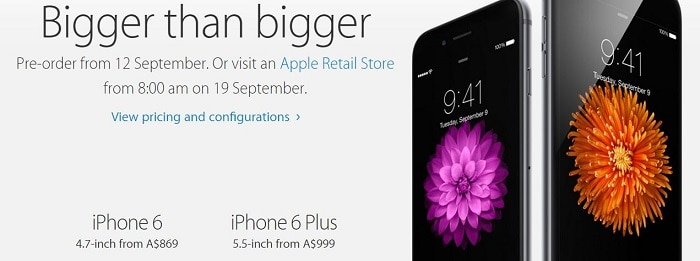 preorder iphone 6