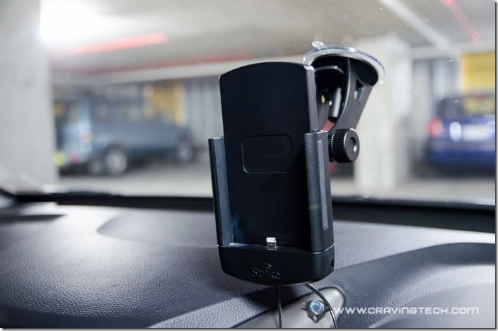 Strike Alpha Cradle for iPhone 6 Review-12