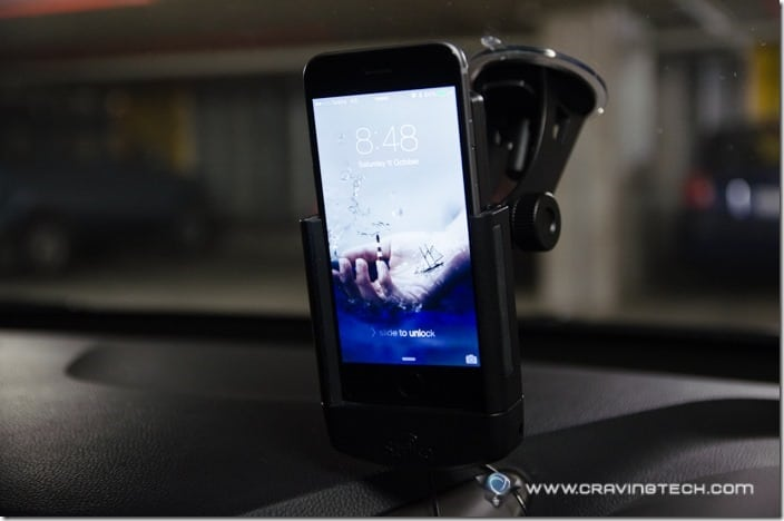 Strike Alpha Cradle for iPhone 6 Review-14