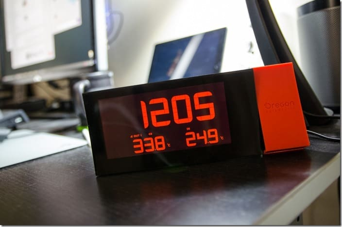 PRYSMA Projection Clock-9