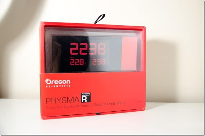 PRYSMA Projection Clock