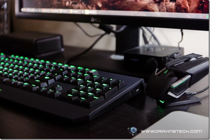 Gaming keyboard goes green - Razer BlackWidow Ultimate Stealth 2014 Review