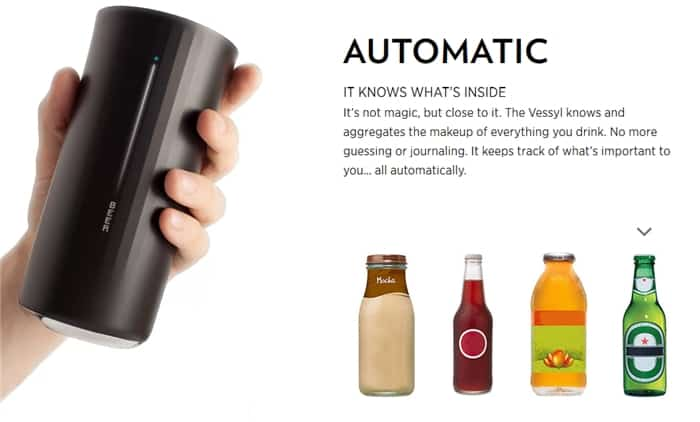cup auto knows what you drink