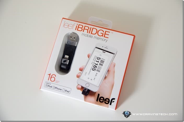Leef iBridge USB drive with Lightning connector-1