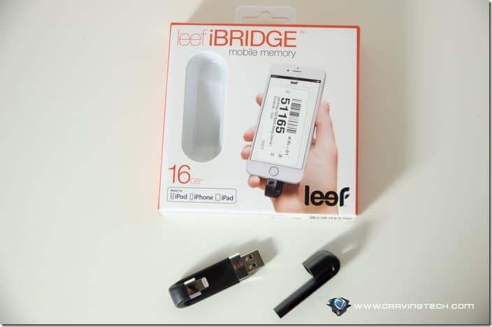 Leef iBridge USB drive with Lightning connector-2