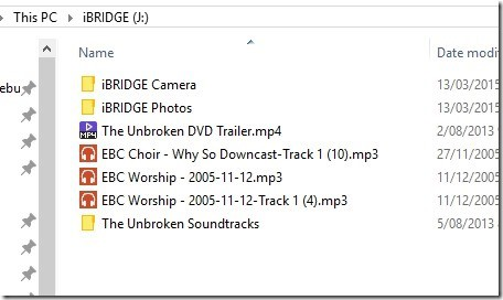 ibridge on Windows Explorer