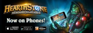 Blizzard's Hearthstone is now available on the smartphones!