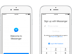 Messenger Sign Up iOS