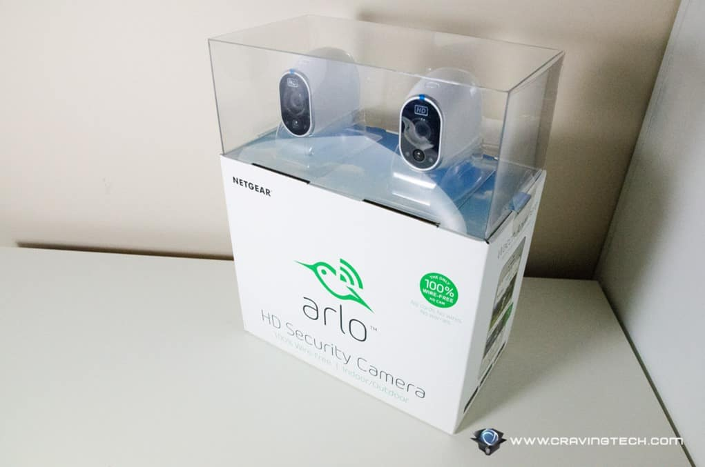 Netgear Arlo security camera-1
