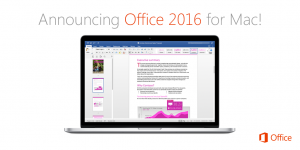 Microsoft Office 2016 released for Mac