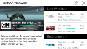 Telstra Mobile Foxtel on the go while you wait