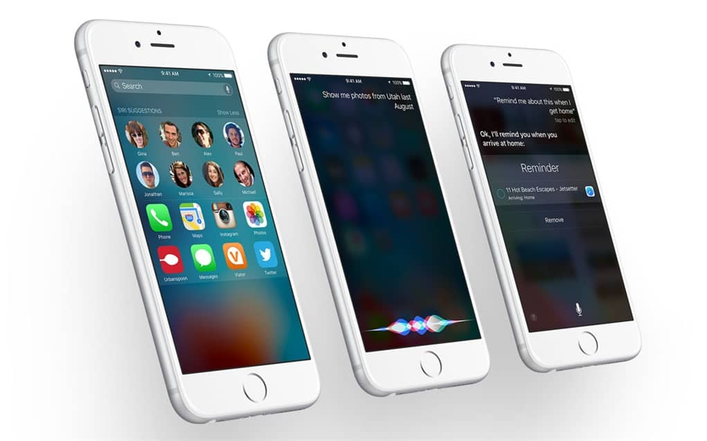 what's new ios 9