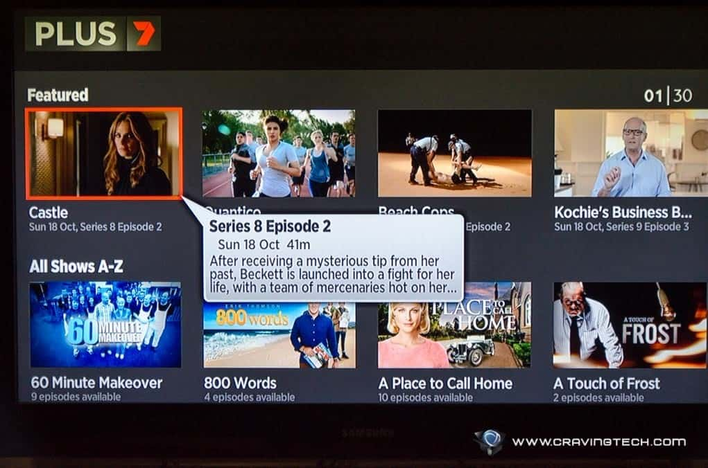 telstra tv how to watch tv