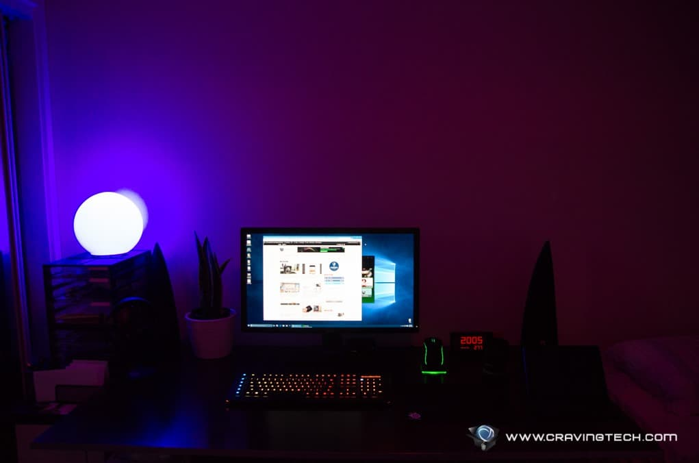 philips hue review lit up your life with color. Black Bedroom Furniture Sets. Home Design Ideas