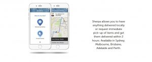 Your own private courier – Sherpa