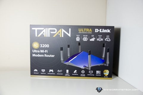 D-Link TAIPAN Modem Router-1