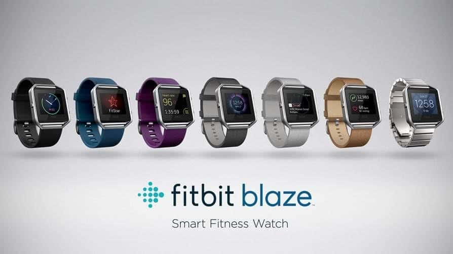 Fitbit Blaze colors