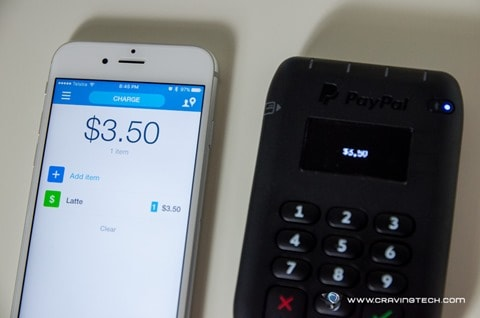 PayPal Tap and Go Card Reader-8