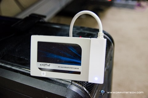 Crucial MX200 SSD-8