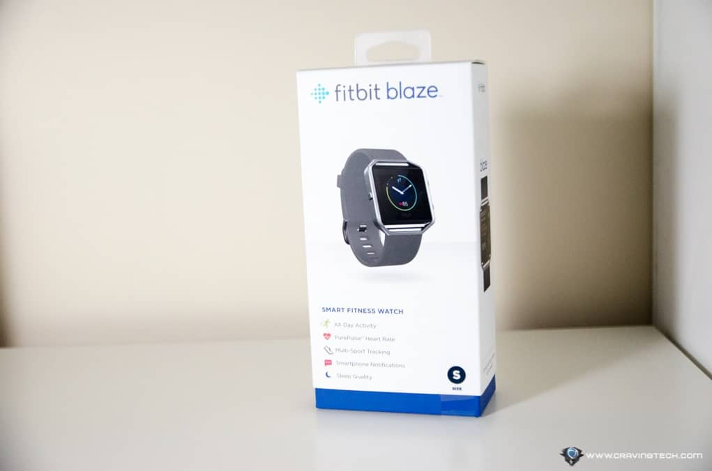 Fitbit Blaze Review - A Fitbit Watch activity tracker