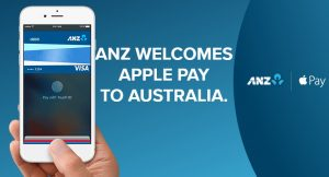 ANZ is the first bank in Australia that accepts Apple Pay, starting today