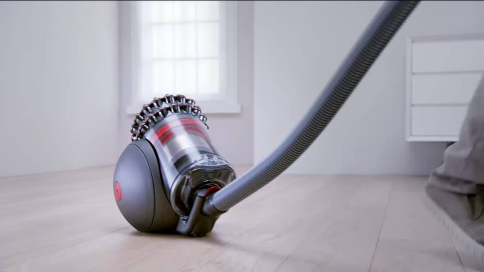 this new dyson vacuum cleaner can get back on its feet when toppled. Black Bedroom Furniture Sets. Home Design Ideas
