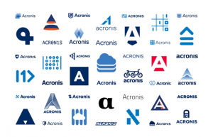 From the same man who designed Google's new Logo – The Journey of Acronis Logo