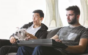 Gaming on laps seems to be the next thing