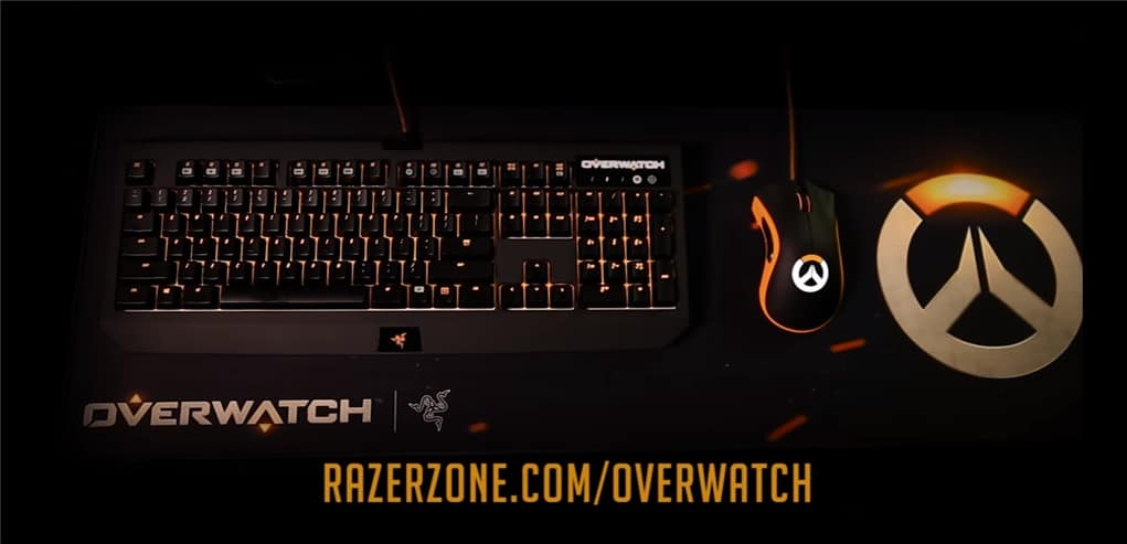 dccd95a1d43 Razer Overwatch keyboard, mouse, headset, and mouse pad are here!