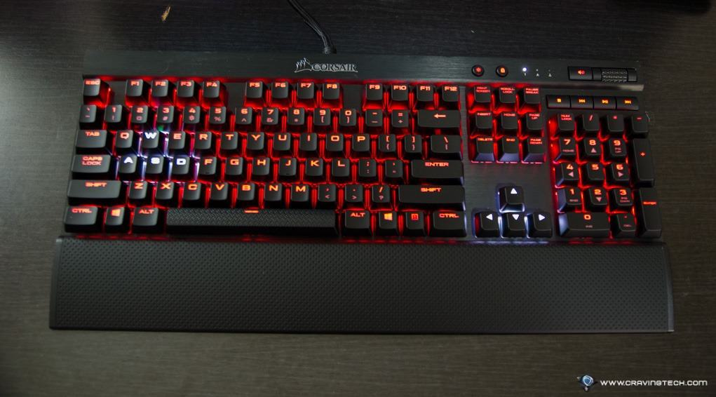 Corsair K70 Rgb Rapidfire Review Cherry Mx Speed Switches