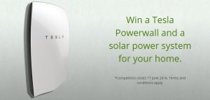 EnergyAustralia is giving away four Tesla Energy Powerwall installation for the lucky families