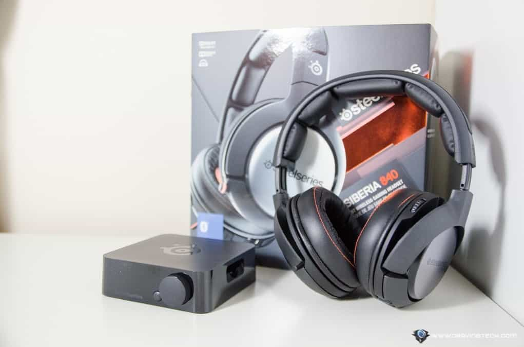 SteelSeries Siberia 840 Review - Best wireless gaming headset