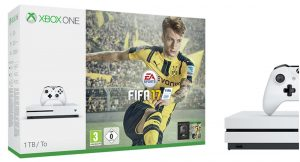 Xbox One S bundles with FIFA 17 announced today
