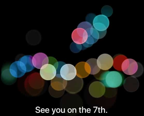 iPhone 7 announcement