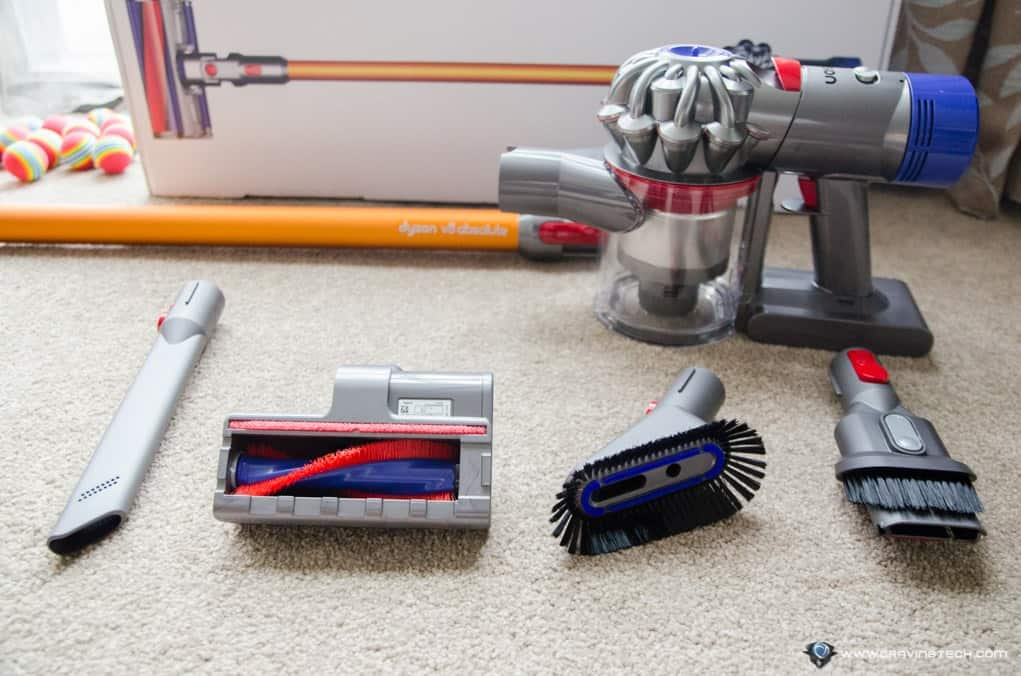 dyson v8 review getting things done better longer quieter. Black Bedroom Furniture Sets. Home Design Ideas