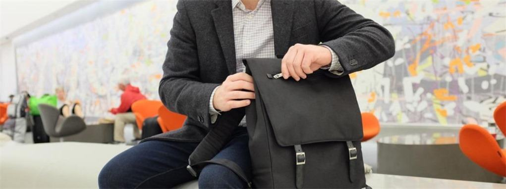 84e7e6b4c2 Moshi Helios is a premium laptop backpack with stylish design
