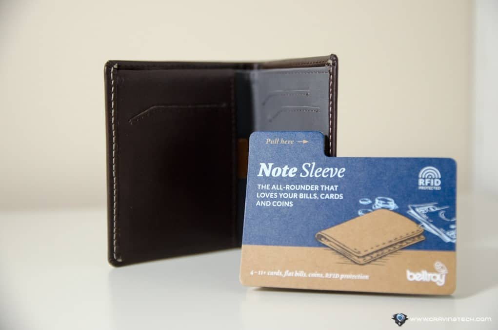 Bellory Note Sleeve RFID-6