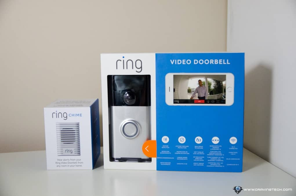 Ring Video Doorbell Review Secure your home talk to your