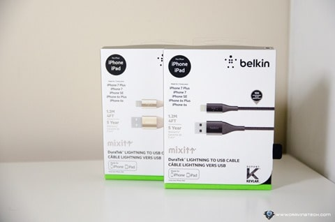Belkin Mixit DuraTek Lightning Cable with Kevlar-1