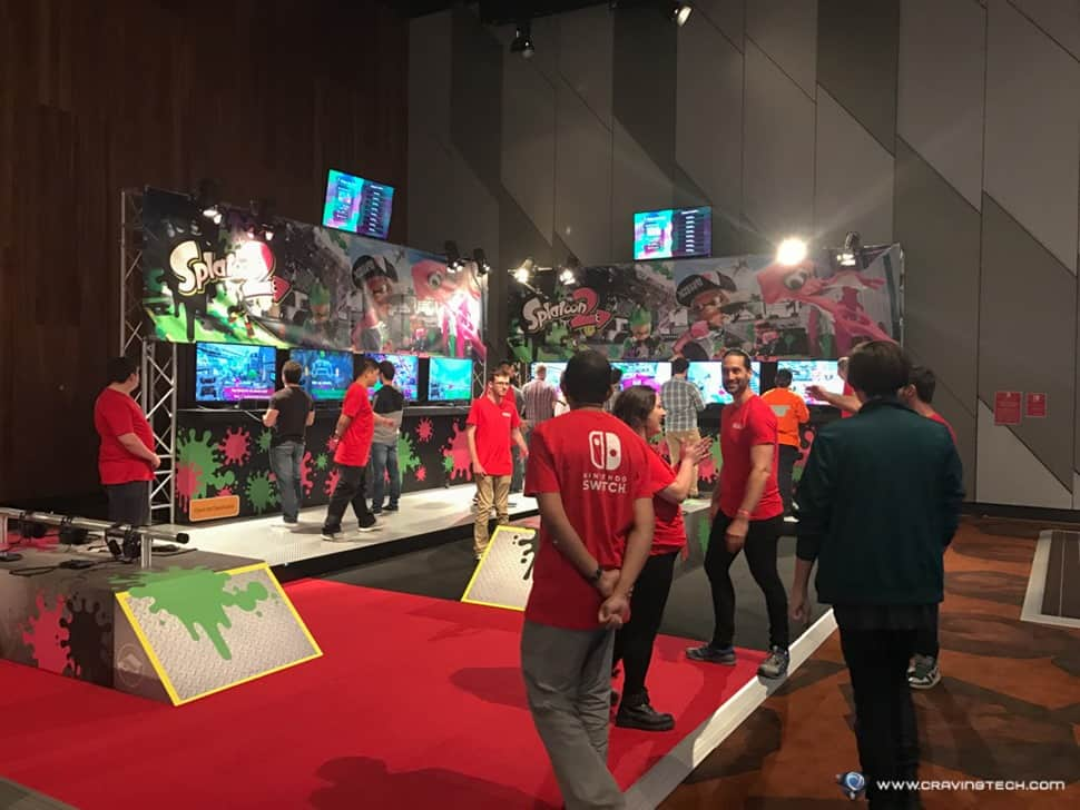 Nintendo launch event Splatoon 2