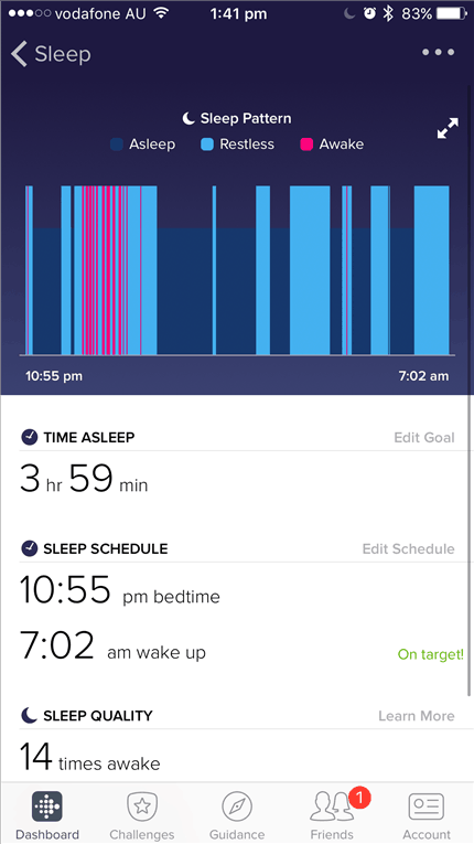Fitbit Flex 2 Review screen1