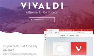 Vivaldi Brings Modern Back to Web Browsers